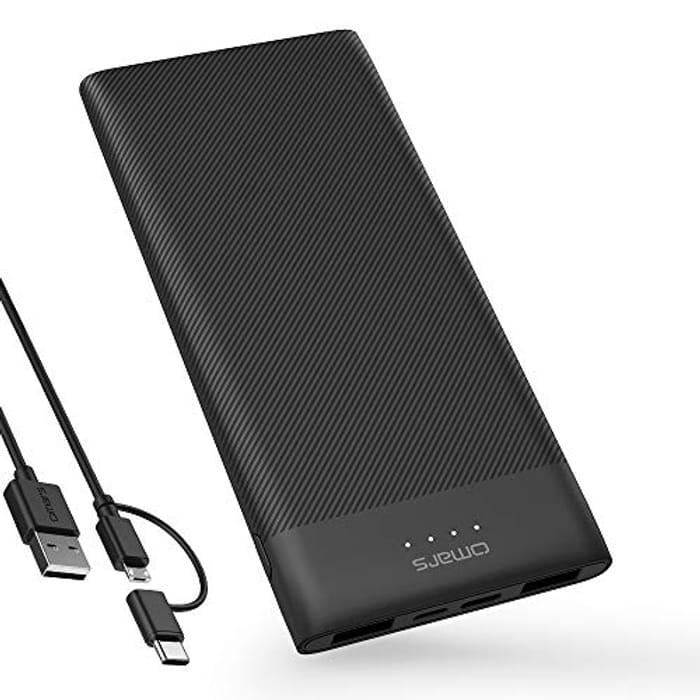 Power Bank 10000 mAh Portable Charger Ultra Slim