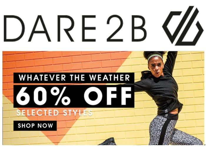DARE2B Sportswear SALE - WOMEN MEN KIDS