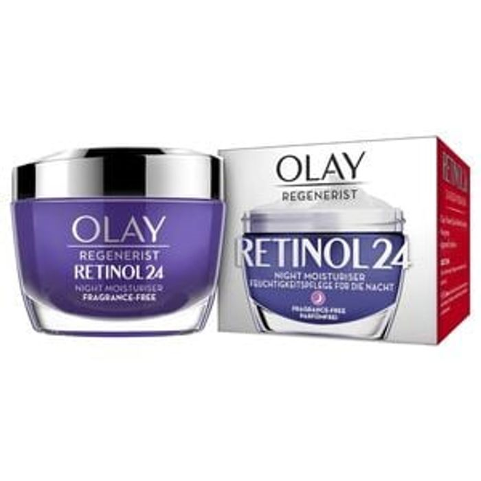 50% off Olay Retinol24 Night Face Moisturiser with Vitamin B3 50ml
