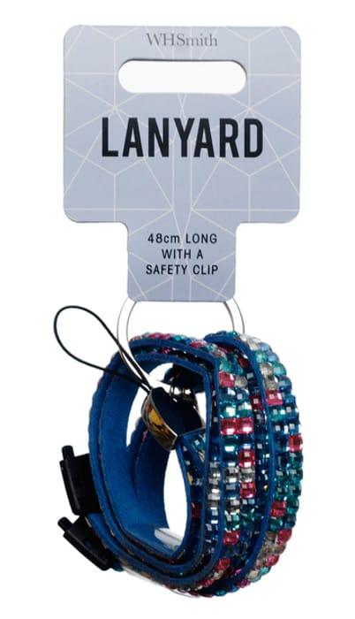 Pastel Gem 48cm Lanyard