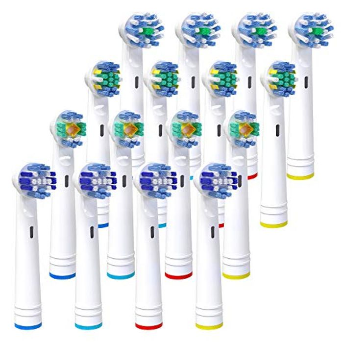 Replacement Toothbrush Heads, iTrunk 16 Pack Electric Toothbrush Heads