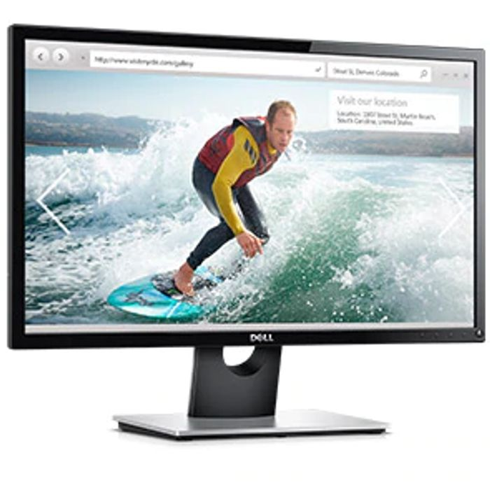 "£15 off Dell SE2416H 24"" FHD IPS LCD Monitor Black Orders at Dell"