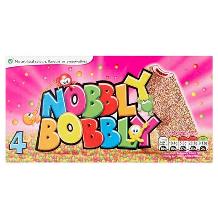 Nobbly Bobbly 4 X 70ml