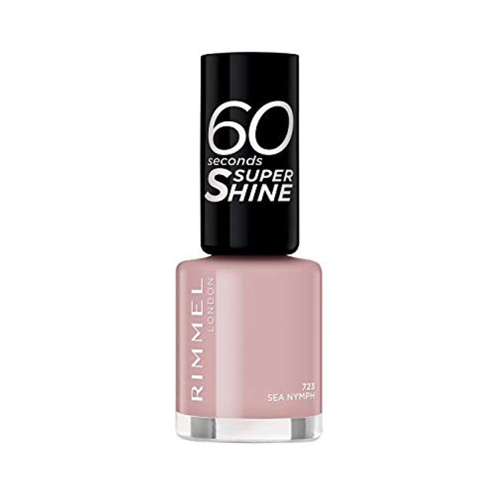 Rimmel 60 Seconds Super-Shine Nail Polish, Sea Nymph