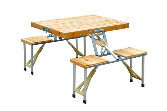 *SAVE £60* Outdoor Foldable Wooden Table Set