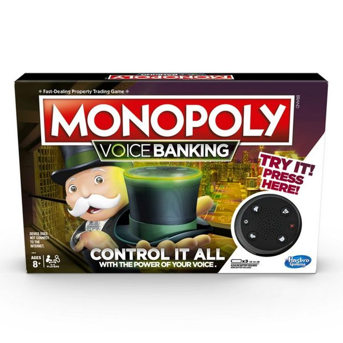 Monopoly Voice Interactive Edition - £16 + Free Click and Collect at Argos