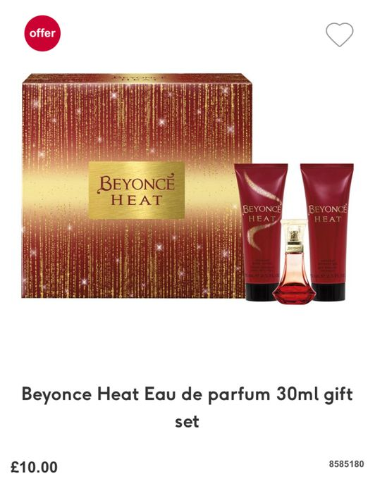 Beyonce Heat Eau De Parfum 30ml Gift Set!!