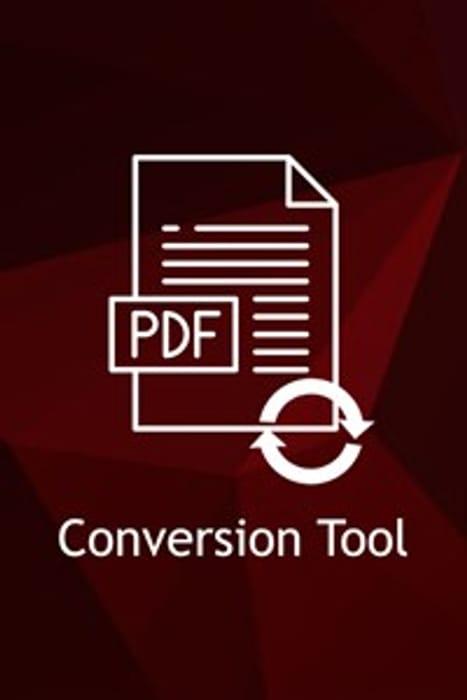 PDF Conversion Tool - Usually £16.74