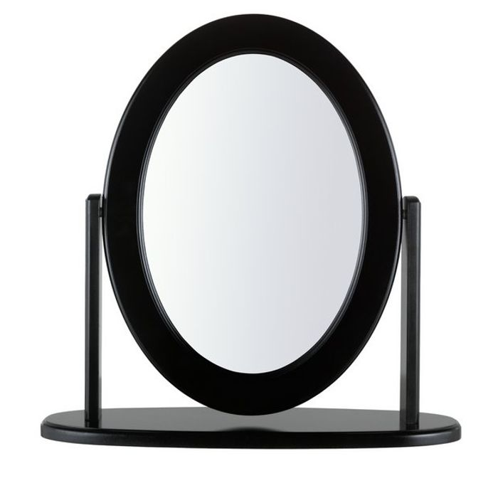 Argos Home Oval Dressing Table Mirror - Black