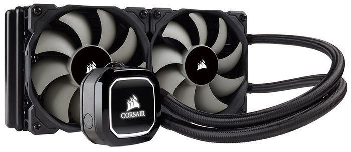 Corsair Hydro Series H100x 240mm Liquid CPU Cooler at AWD-IT 12%off