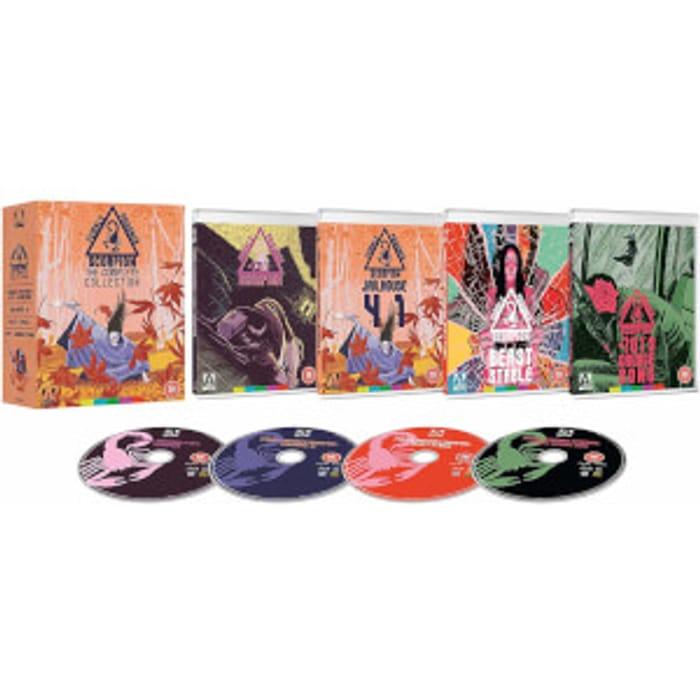 Female Prisoner Scorpion Collection Blu-Ray