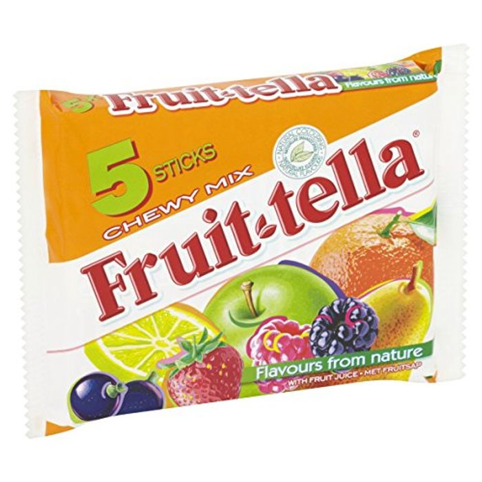 Fruittella Chewy Mix, 1 Pack of 5 Sticks (205 G)