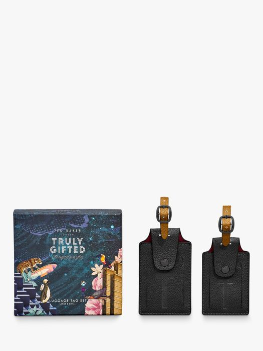 Ted Baker Ted's World Luggage Tag Set