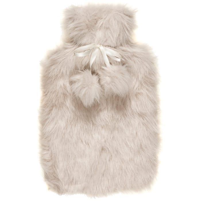 Deluxe Fur Hot Water Bottle