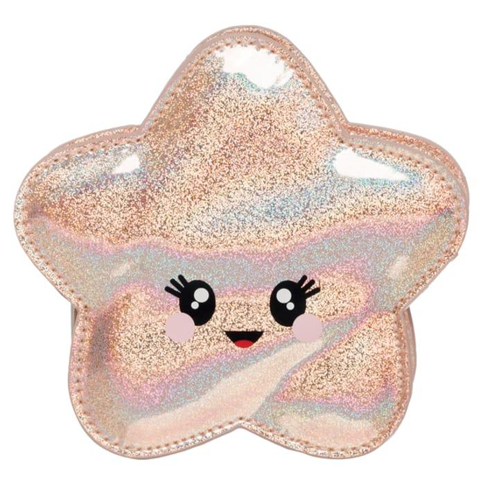 Sparkle Pop Holographic Starfish Purse