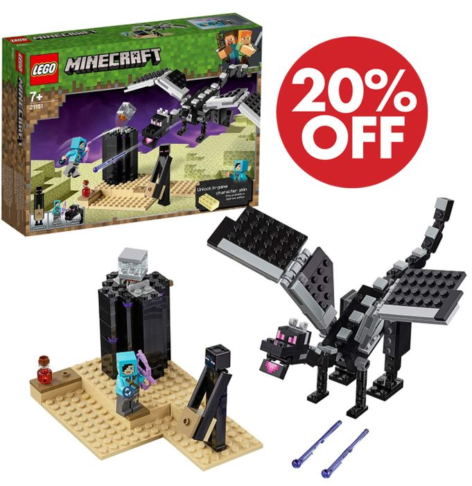 SAVE £4 - LEGO MINECRAFT - The End Battle (21151)