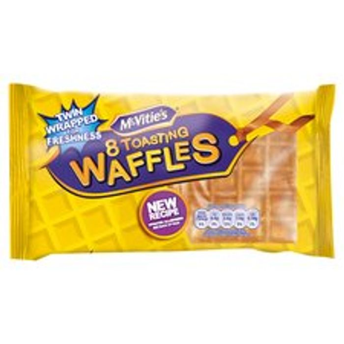 Mcvities Toasting Waffles 8 Pack