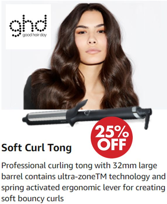 Special Offer - Ghd Curve Soft Curl Tong - save £32