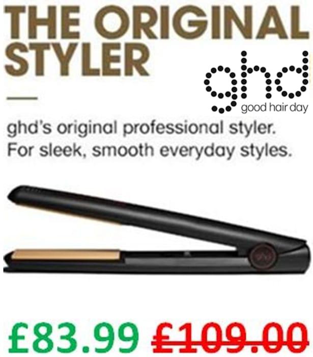 SAVE £25 - Ghd Mark IV Original Styler - Professional Ceramic Hair Straighteners
