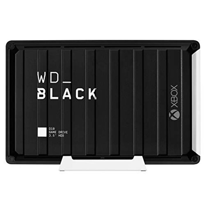 WD BLACK 12 TB D10 Game Hard Drive for Xbox One