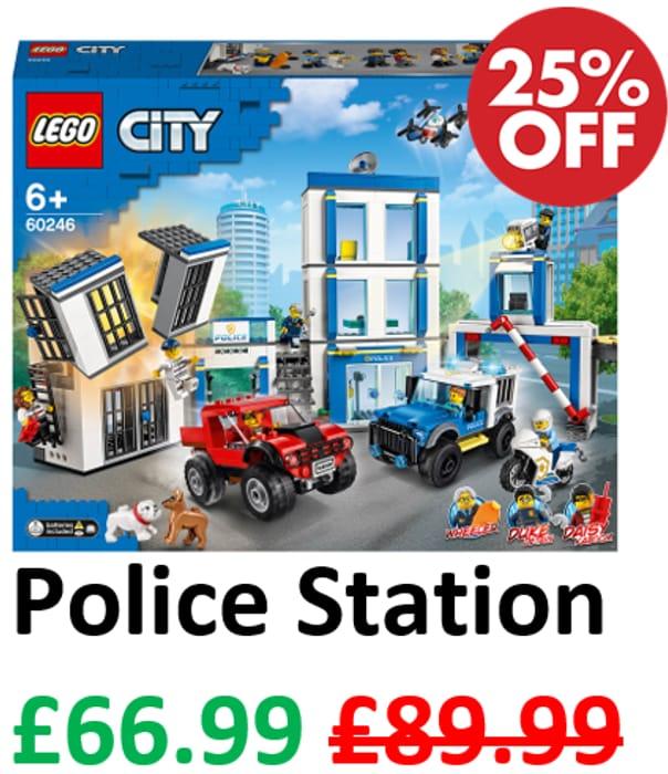 Save £23 - Lego City Police Station (60246)