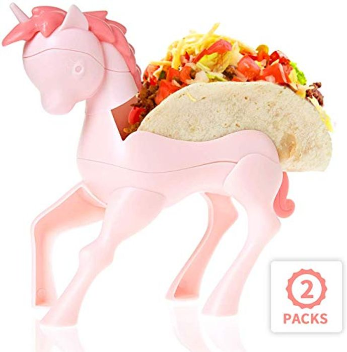 Unicorn Taco Holder Set