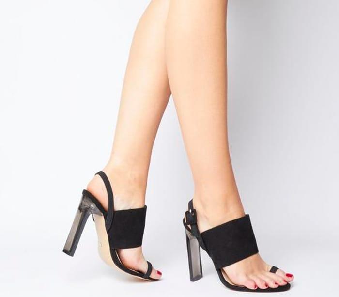 Heatwave Transparent Heels