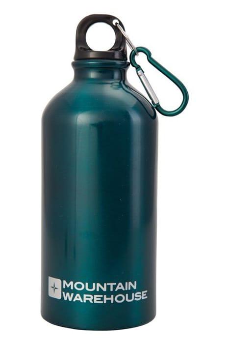 0.5L Metallic Finish Bottle with Karabiner