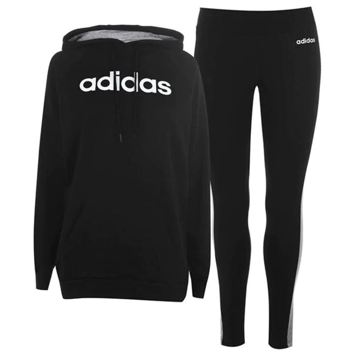 Adidas Black Tracksuit for Ladies (Size 6) On Sale From £54.99 to £33.5
