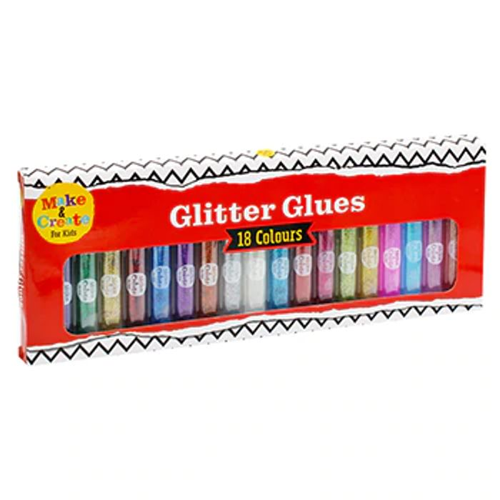 Glitter Glue Set - 18 Pack