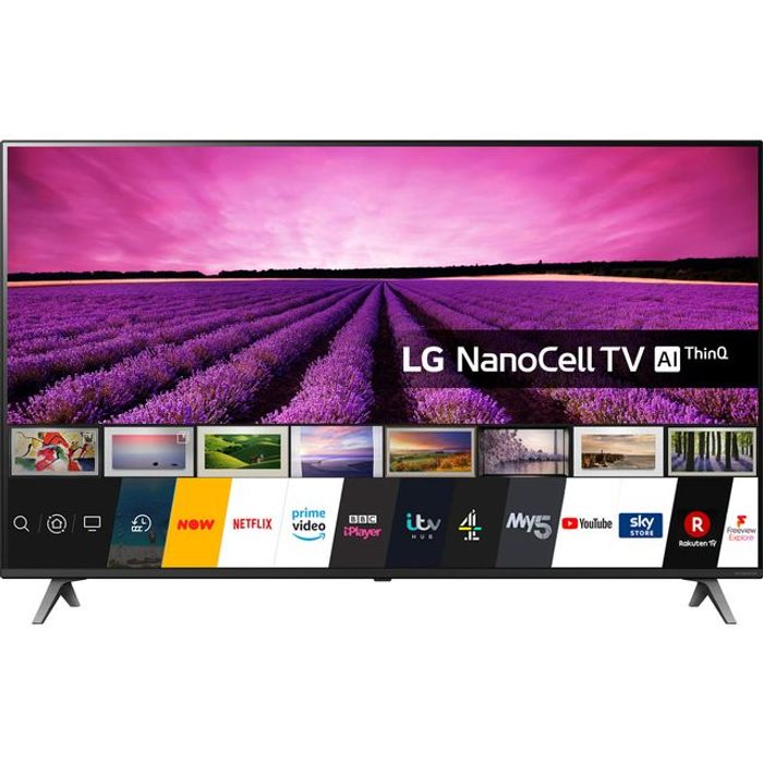 """LG 49SM8050PLC 49"""" Smart 4K Ultra HD TV with Nanocell Display, HDR and Freeview"""