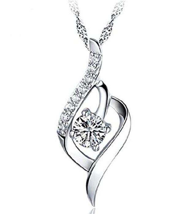 Crystal Pendant Necklace for Women
