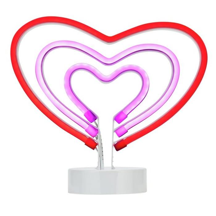 Neon Heart Light