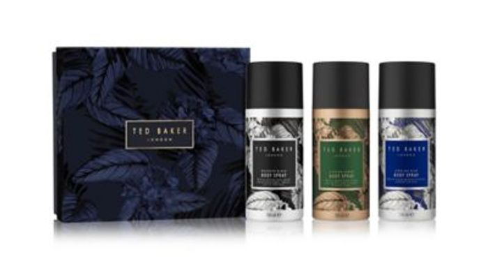Ted Baker Body Spray Trio Gift Save Extra £3 Use Code SAVE3ONLINE