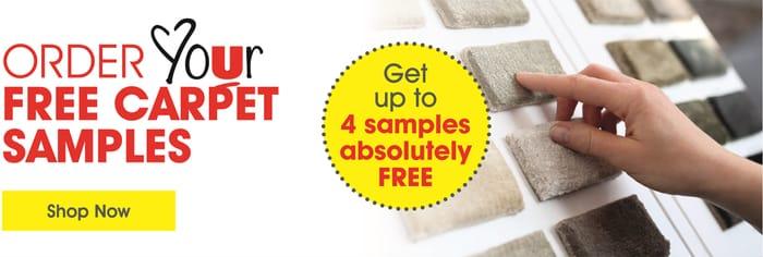 Up to 4 Carpet Samples Free
