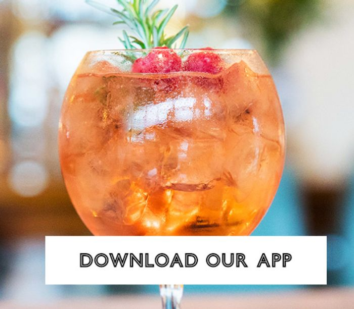 Free Raspberry & Peach Gintonica When You Download All Bar One Loyalty App