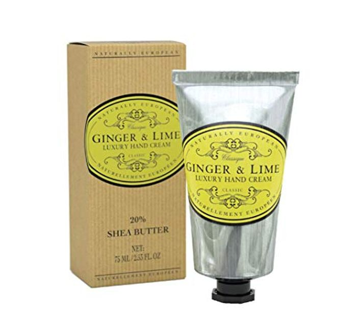 Naturally European Ginger & Lime Luxury Hand Cream Boxed