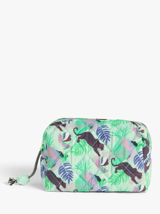 John Lewis & Partners Queztal Makeup Bag