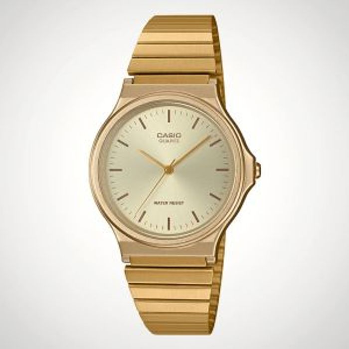 Cheap Casio Retro Watch in Gold at Menkind Only £22.50!
