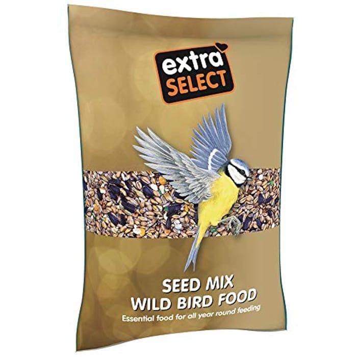 Extra Select Seed Mix Wild Bird Food, 2 Kg