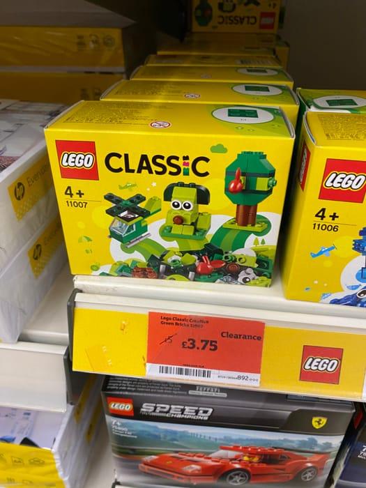 Lego Classics - Green Blocks