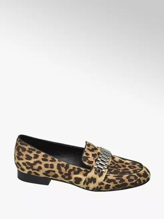 Rita Ora Star Collection Leopard Print Loafers