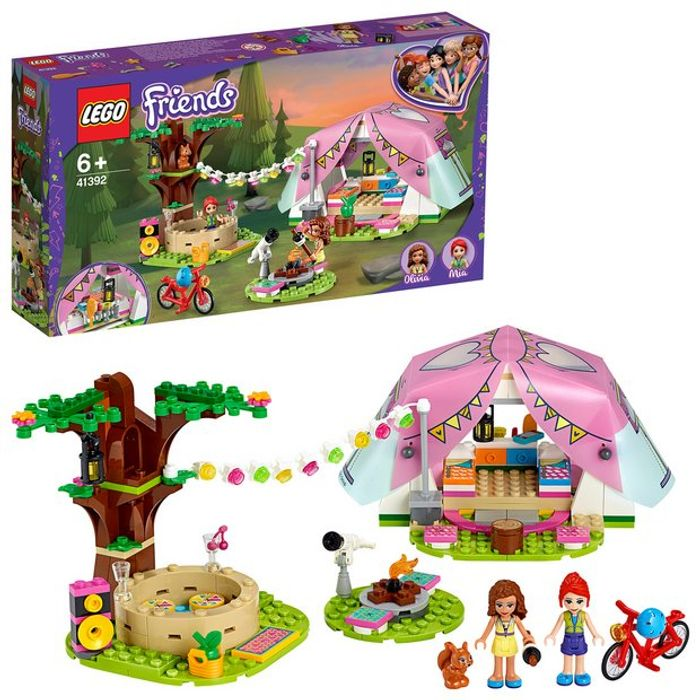 Cheap LEGO Friends Nature Glamping Outdoor Adventure Playset Only £16.66