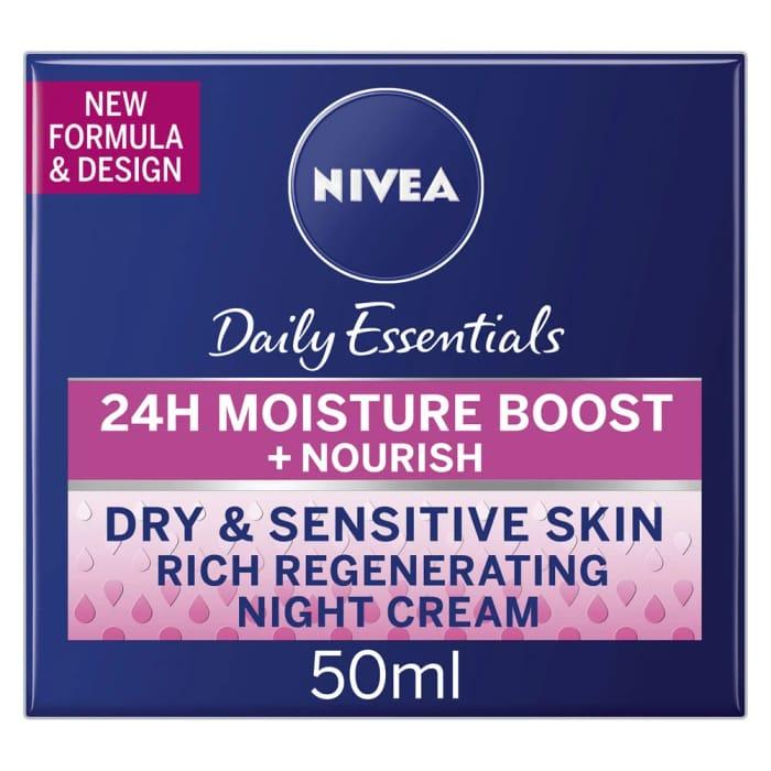 Nivea Daily Essentials Rich Regenerating Night Cream 50ml