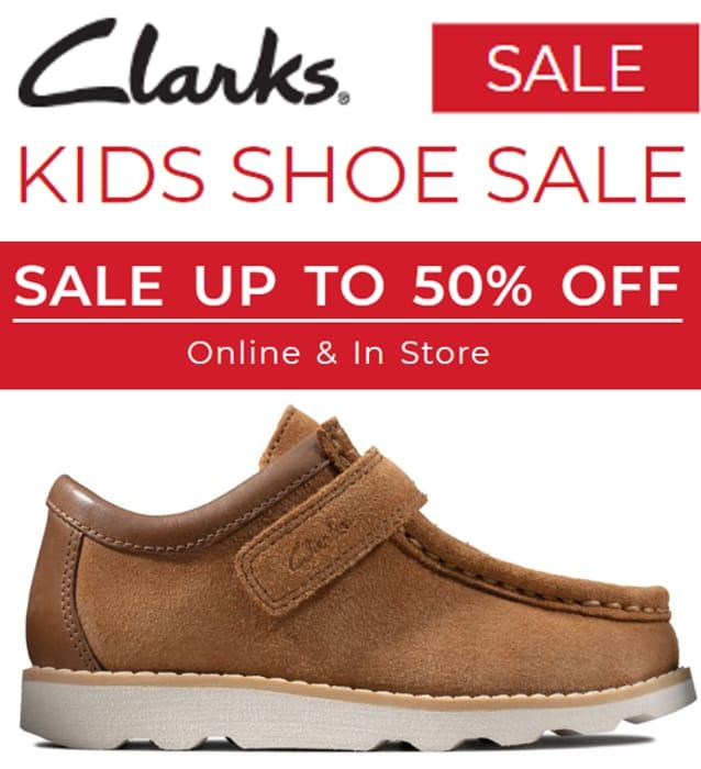 Clarks KIDS SHOE SALE | LatestDeals.co.uk