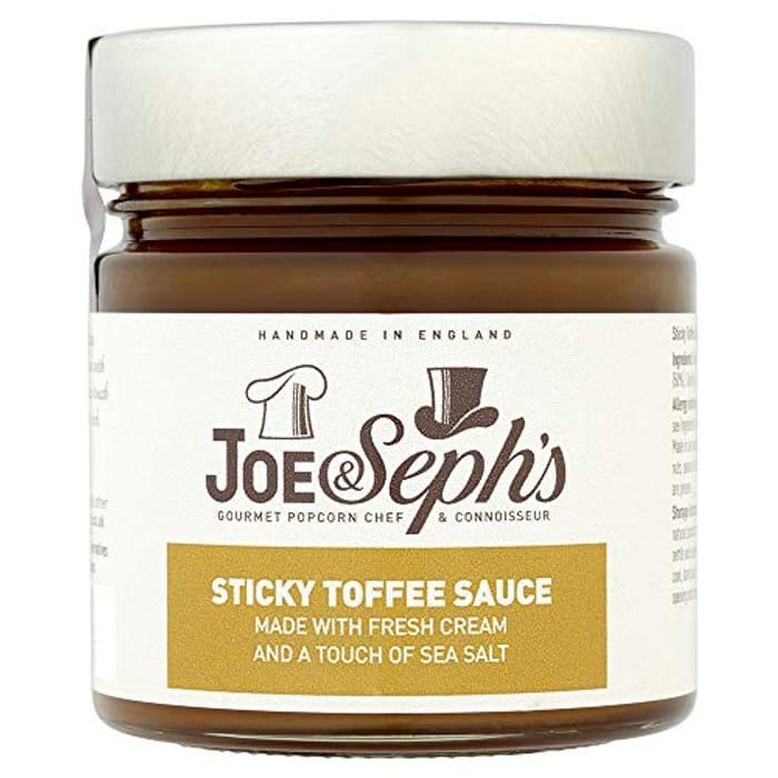 Joe & Seph's Sticky Toffee Caramel Sauce, 230g