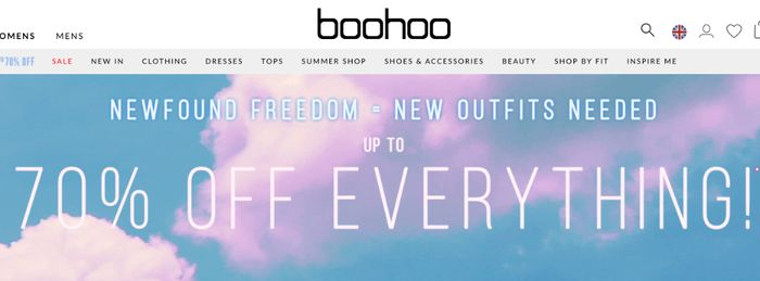 Extra 15% Discount at BOOHOO with code