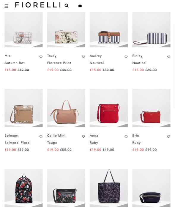 20 Bags under £20
