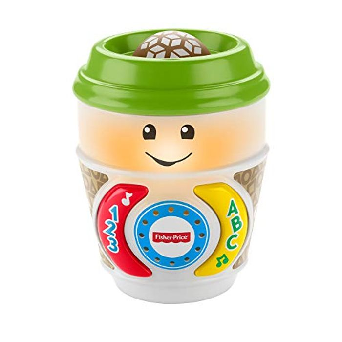 Laugh & Learn On-the-Glow Coffee Cup, Interactive Baby Toy, Multicolour