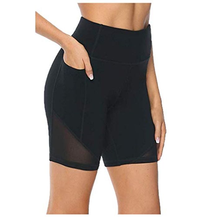 Yoga Shorts Women's High Waist Leggings,